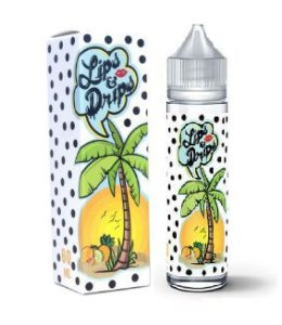 E-JUICE TROPICAL KISSES BY LIPS & DRIPS 60 ML