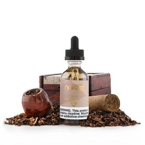LIQUIDO NAKED 100 -  TOBACCO EURO GOLD  - 60 ml - 6mg NICOTINA