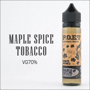 LIQUIDO P.O.E.T - MAPLE SPICED TOBACCO 60ML