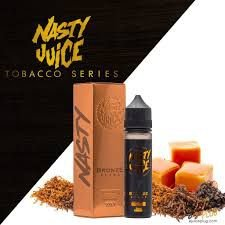 BRONZE BLEND Tobacco Series BY Nasty Juice 60ml / 3MG NIC.