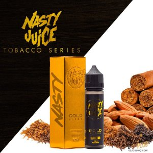 GOLD BLEND Tobacco Series BY Nasty Juice 60ml / 3MG NIC.