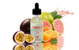 LÍQUIDO NAKED 100 - HAWAIIAN  - 60 ML - 0MG NICOTINA