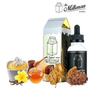 E-LIQUID HERITAGE GOLD MAX VG, 60ml - The Milkman