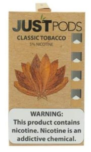 JUST PODS 50MG - CLASSIC TOBACCO
