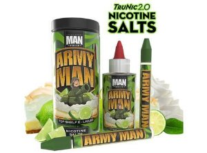 Salt Nic ARMY MAN - 100ML - MAN SERIES