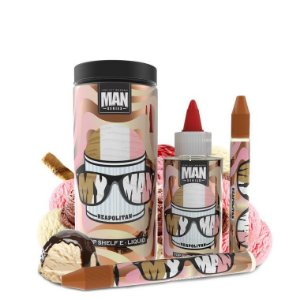 MY MAN SALT NIC - 100ML - MAN SERIES