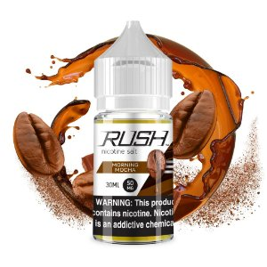 LIQUIDOS SALT NIC  RUSH - MORNING MOCHA 30ML