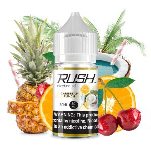 LIQUIDOS SALT NIC  RUSH - CARIBEAN PUNCH 30ML
