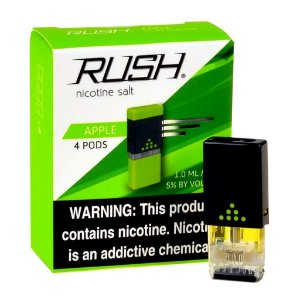 REFIL RUSH (PACK 4) APPLE