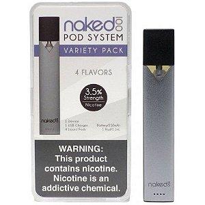 Cigarro Eletrônico Naked 100 Pod System com 4 PODS sabores variados