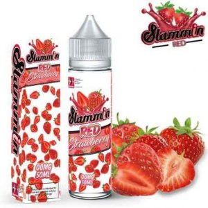RED STRAWBERRY - SLAMMIN E-JUICE (60 ML) 3MG