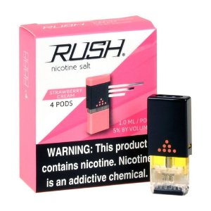 REFIL RUSH (PACK 4) STRAWBERRY CREAM