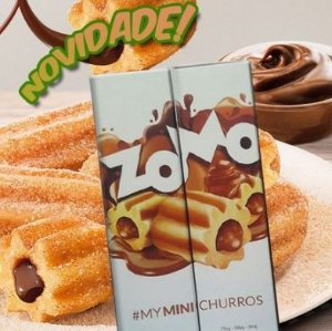 LÍQUIDO ZOMO - MY MINI CHURROS E-JUICE 60ML - 3MG NICOTINA