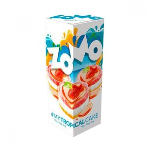 LÍQUIDO ZOMO - MY TROPICAL CAKE E-JUICE 60ML - 3MG NICOTINA
