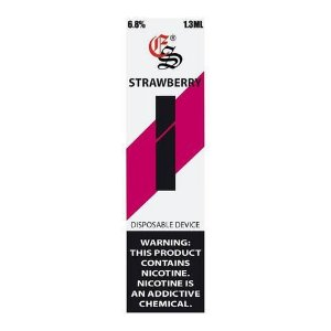 EONSMOKE STIK  STRAWBERRY 1.3ML DESCARTÁVEL 6.8% NIC.