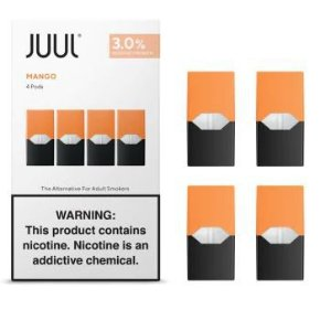 REFIL JUUL (PACK OF 4) MANGO 3% SALT NIC