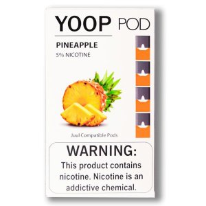 YOOP POD PINEAPPLE 50MG SALT NIC - COMPATÍVEL COM O JUUL