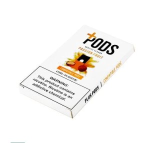 PLUS PODS PASSION FRUIT (4 PACK) 6% SALT NIC