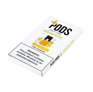 PLUS PODS ICED PINEAPPLE (4 PACK) 6% SALT NIC (COMPATÍVEL COM O JUUL)
