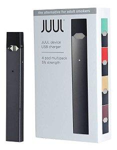 JUUL STARTER KIT V 3.0 COM 1 REFIL ( 4 PODS)
