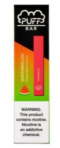 PUFF BAR - DISPOSABLE POD DEVICE - DESCARTAVEL- WATERMELON
