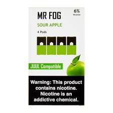 MR FOG SOUR APPLE- JUUL COMPATIBLE