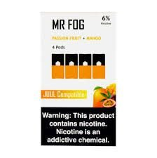 MR FOG PASSION FRUIT+MANGO- JUUL COMPATIBLE