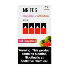 MR FOG STRAWBERRY+WATERMELON- JUUL COMPATIBLE