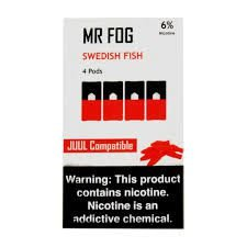 MR FOG  SWEDISH FISH- JUUL COMPATIBLE
