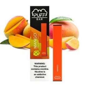 PUFF BAR - DISPOSABLE POD DEVICE - DESCARTAVEL- MANGO