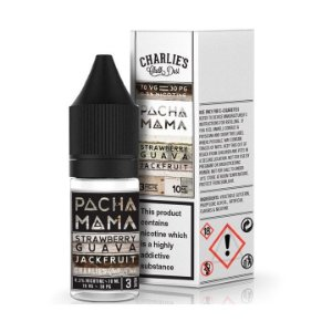PACHAMAMA STRAWBERRY, GUAVA, JACK FRUIT por Charlies  Chalk Dual - 3MG/10ML