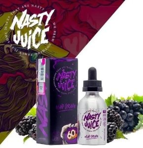 LIQUIDO NASTY JUICE ASAP GRAPE 60ML - 3MG NICOTINA