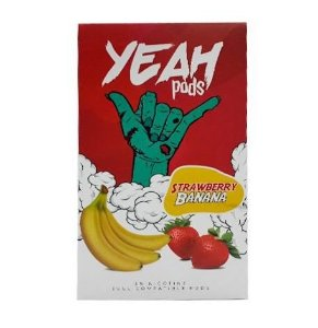 YEAH PODS - STRAWBERRY BANANA - COMPATÍVEL COM JUUL