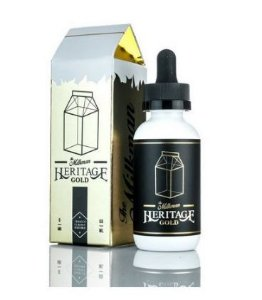 E-LIQUID HERITAGE GOLD - THE MILKMAN 6MG - 60ML