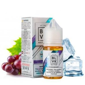 LIQUIDO SALT NIC PLUS 50MG GRAPE ICE 30ML - BLVK UNICORN
