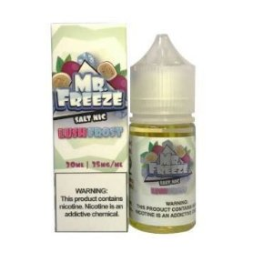 LIQUIDO MR. FREEZE LUSH FROST - 50MG SALT NIC - 30ML