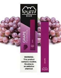PUFF BAR - DISPOSABLE POD DEVICE - DESCARTAVEL- GRAPE