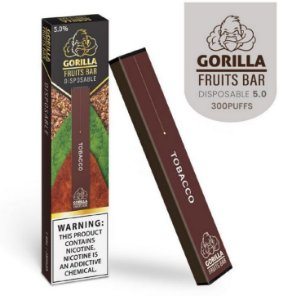 GORILLA FRUITS BAR -  DESCARTAVEL - TOBACCO