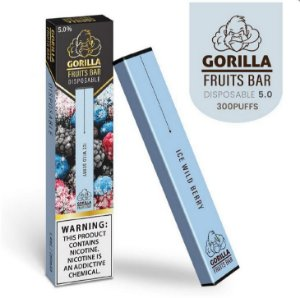 GORILLA FRUITS BAR -  DESCARTAVEL - ICE WILD BERRY