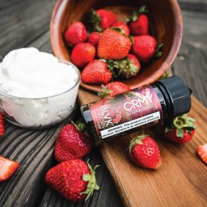 LIQUIDOS SALT NIC  BLVK - STRAWBERRY CREAM 30ML