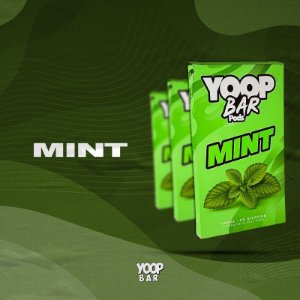 YOOP BAR POD MINT 60MG SALT NIC - COMPATÍVEL COM O JUUL
