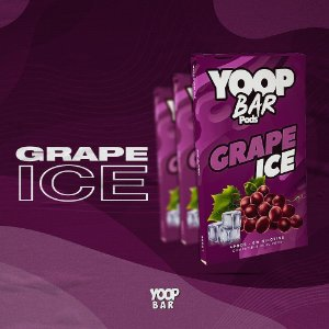 YOOP BAR POD GRAPE ICE 60MG SALT NIC - COMPATÍVEL COM O JUUL