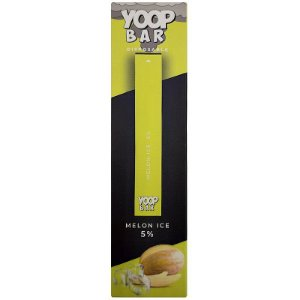 YOOP BAR DISPOSABLE POD DEVICE 50MG NIC SALT - DESCARTAVEL- MELON ICE