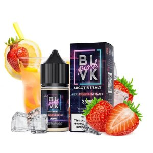 LIQUIDOS SALT NIC  BLVK - ICED BERRY LEMONADE 30ML