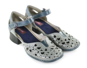 Sapato New Kelly Cromo
