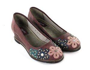Sapato Anabela Susan Baixo