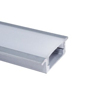 Perfil Embutir 24X9MM Slim LUM21 Fita Led