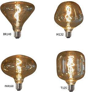 Lampada de Filamento LED Vetro Retrô Grande  -  RomaLux