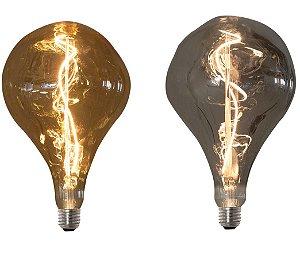 Lâmpada de Filamento LED Vetro Retrô D160 Modelo GIGANTE Bivolt