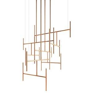 Pendente Ladder 8 Lampadas G9 - Klaxon